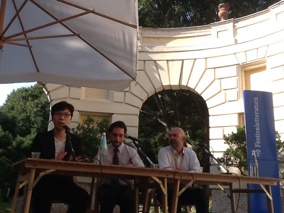 Kim Young-ha a Mantova