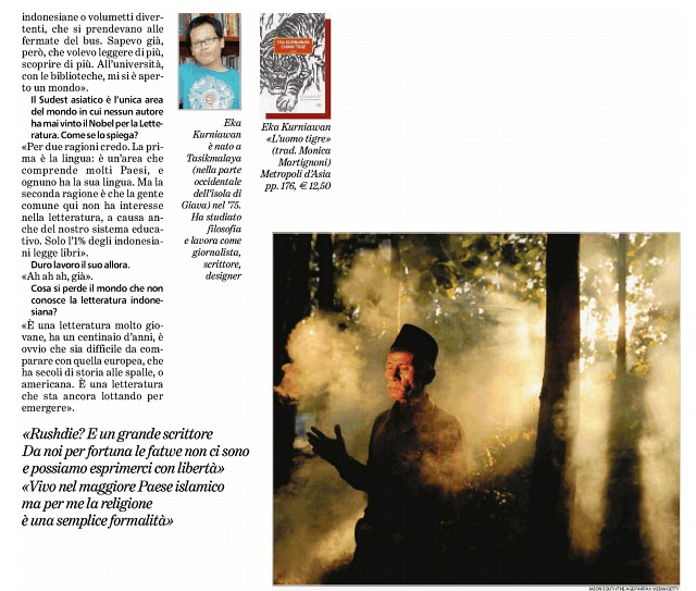 Eka Kurniawan - tuttoLibri - La Stampa