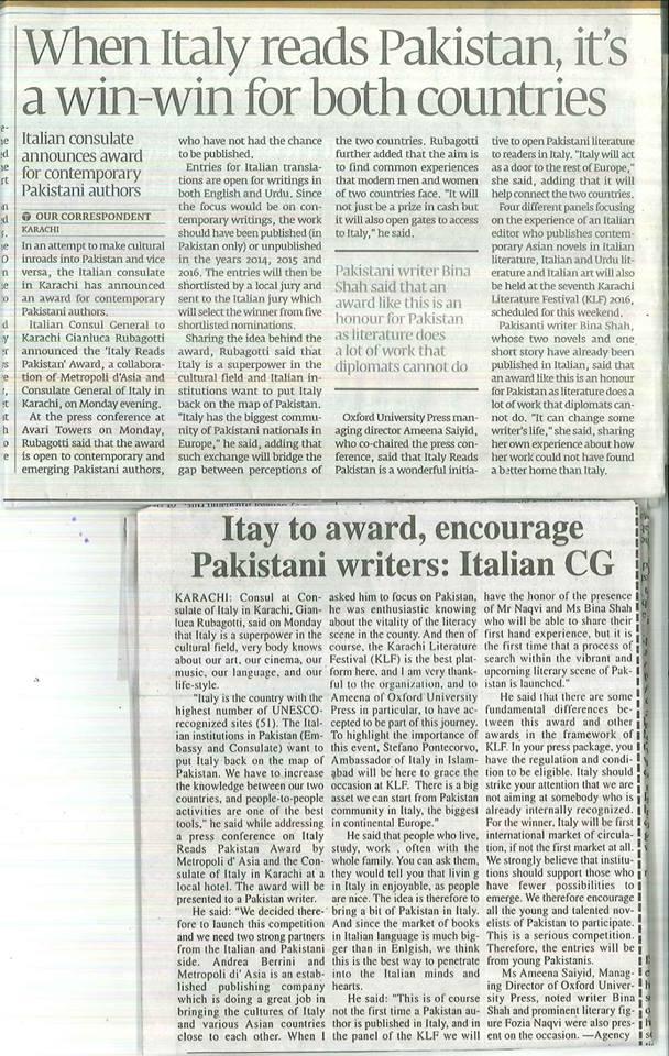Metropoli d asia al karachi literature festival for Metropoli in italia