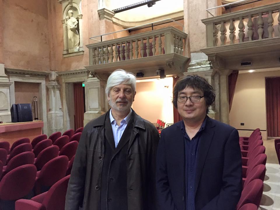 A Yi con Andrea Berrini a Incroci di civiltà
